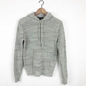 Michael Kors Knitted Grey Hoodie Sweater